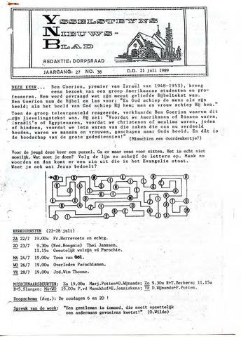 Ysselsteyns Nieuwsblad 1989-07-21