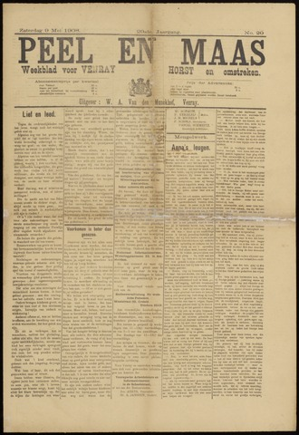 Peel en Maas 1908-05-09