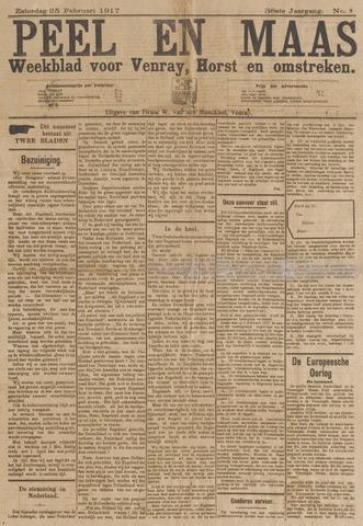 Peel en Maas 1917