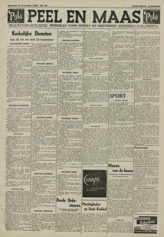 Peel en Maas 1959-11-14