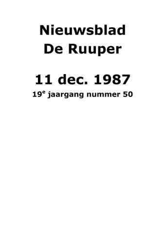 Dorpsblad Leunen-Veulen-Heide 1987-12-11