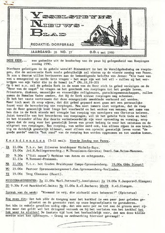 Ysselsteyns Nieuwsblad 1990-05-04