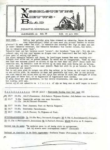 Ysselsteyns Nieuwsblad 1991-07-19
