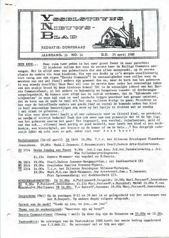 Ysselsteyns Nieuwsblad 1988-04-15