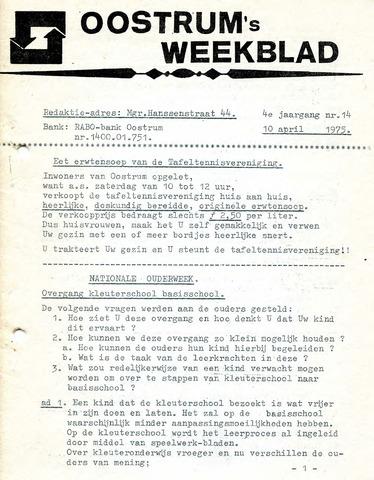 Oostrum's Weekblad 1975-04-10