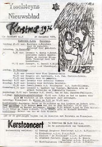 Ysselsteyns Nieuwsblad 1976-12-24