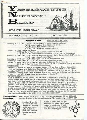 Ysselsteyns Nieuwsblad 1987-05-15