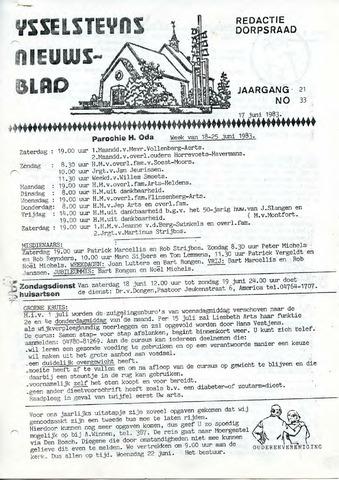 Ysselsteyns Nieuwsblad 1983-06-17