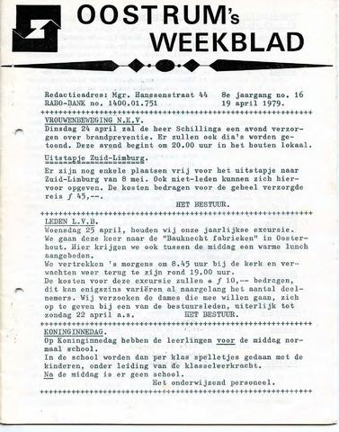 Oostrum's Weekblad 1979-04-19