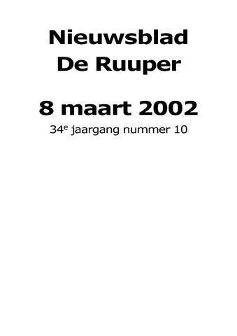 Dorpsblad Leunen-Veulen-Heide 2002-03-08