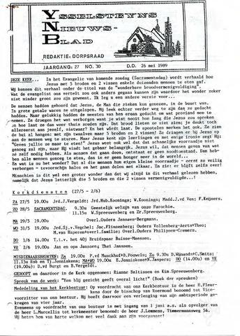 Ysselsteyns Nieuwsblad 1989-05-26