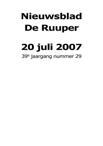 Dorpsblad Leunen-Veulen-Heide 2007-07-20