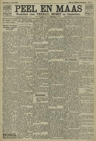 Peel en Maas 1934-04-14