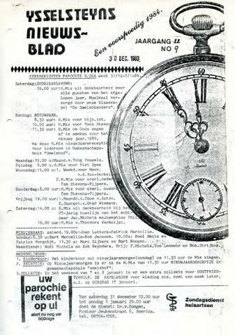 Ysselsteyns Nieuwsblad 1983-12-30