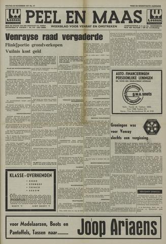 Peel en Maas 1971-11-26