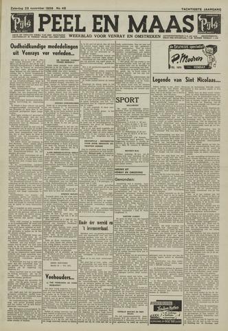 Peel en Maas 1959-11-28