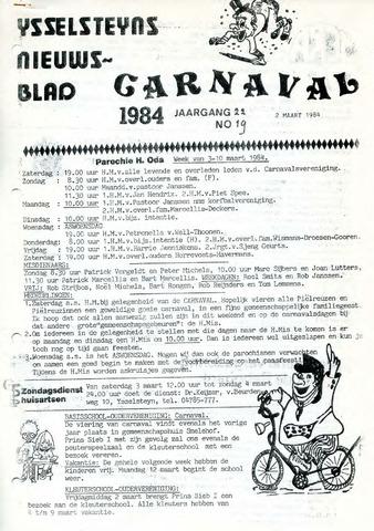 Ysselsteyns Nieuwsblad 1984-03-02