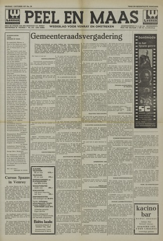 Peel en Maas 1971-10-01