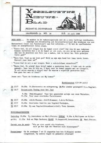 Ysselsteyns Nieuwsblad 1988-07-22