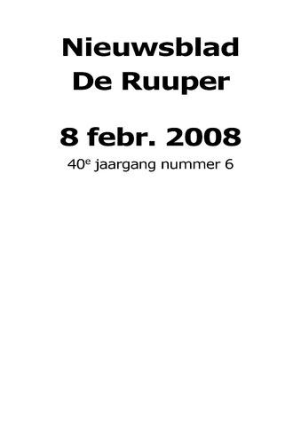 Dorpsblad Leunen-Veulen-Heide 2008-02-08