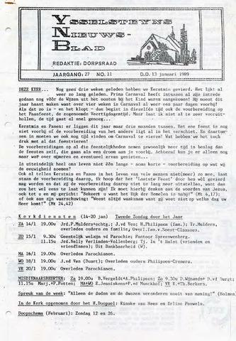 Ysselsteyns Nieuwsblad 1989-01-13