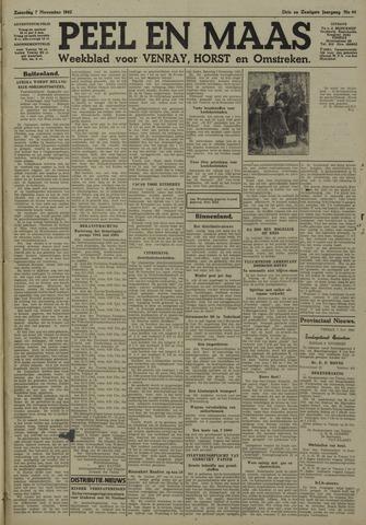 Peel en Maas 1942-11-07