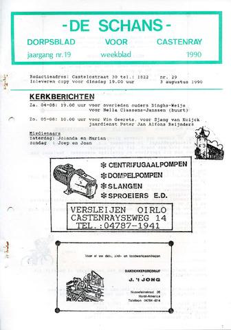 Castenrays dorpsblad De Schans 1990-08-03