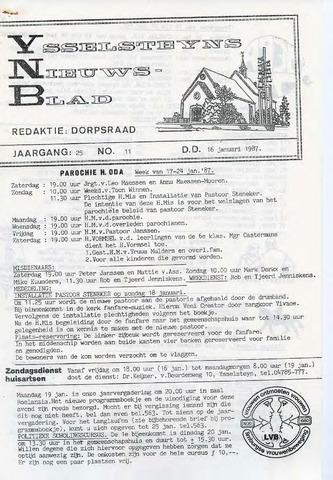 Ysselsteyns Nieuwsblad 1987-01-16