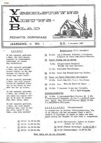 Ysselsteyns Nieuwsblad 1987-12-04