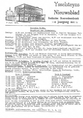 Ysselsteyns Nieuwsblad 1973-06-08