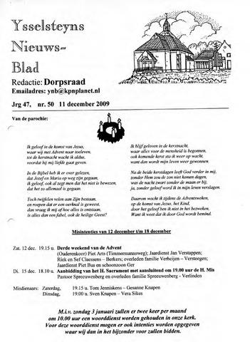 Ysselsteyns Nieuwsblad 2009-12-11