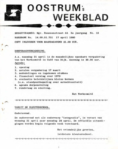 Oostrum's Weekblad 1980-04-17