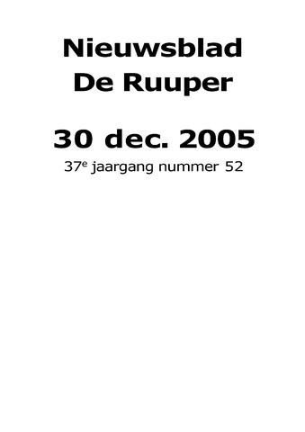 Dorpsblad Leunen-Veulen-Heide 2005-12-30