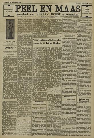 Peel en Maas 1939-08-26