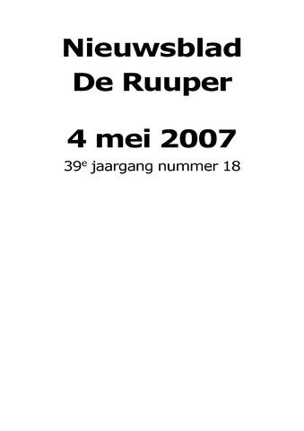 Dorpsblad Leunen-Veulen-Heide 2007-05-04
