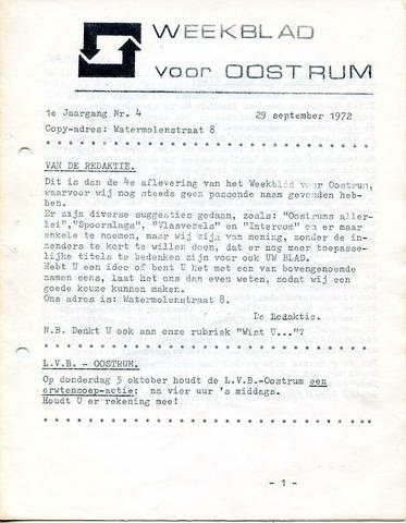 Oostrum's Weekblad 1972-09-29