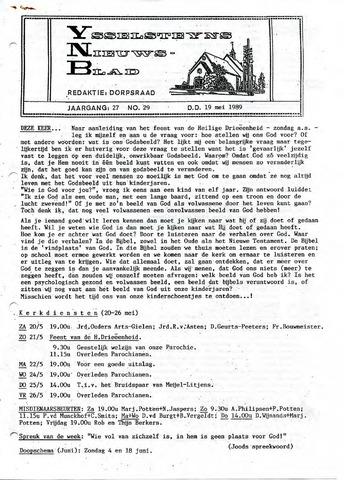 Ysselsteyns Nieuwsblad 1989-05-19
