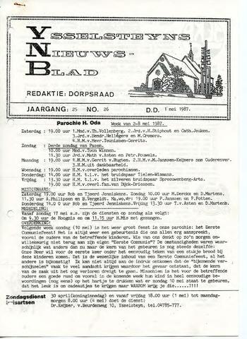 Ysselsteyns Nieuwsblad 1987-05-01