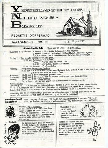 Ysselsteyns Nieuwsblad 1987-06-26
