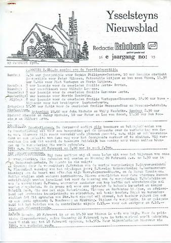 Ysselsteyns Nieuwsblad 1978-02-17