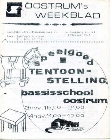 Oostrum's Weekblad 1973-11-02