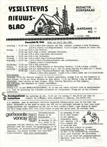 Ysselsteyns Nieuwsblad 1984-10-19