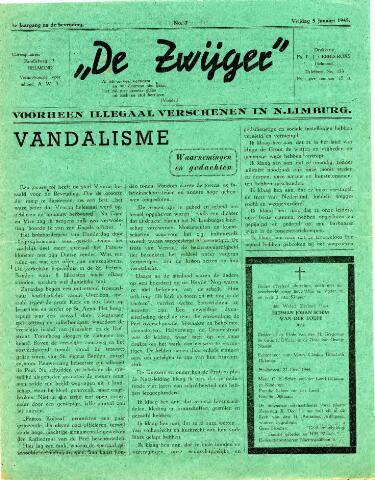 De Zwijger 1945