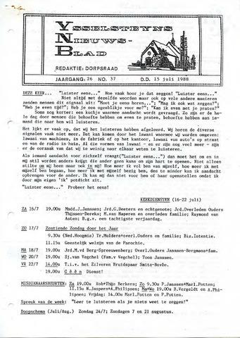 Ysselsteyns Nieuwsblad 1988-07-15