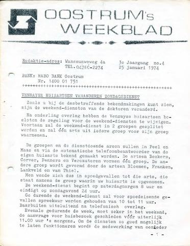 Oostrum's Weekblad 1974-01-25