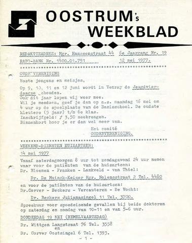 Oostrum's Weekblad 1977-05-12