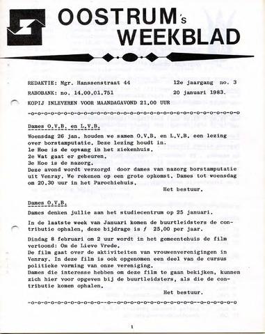 Oostrum's Weekblad 1983-01-20