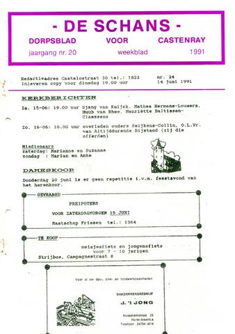 Castenrays dorpsblad De Schans 1991-06-14