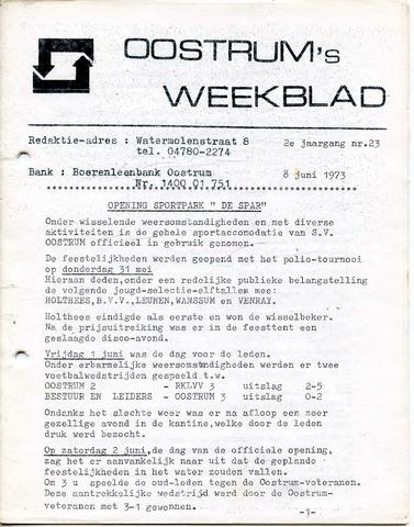Oostrum's Weekblad 1973-06-08