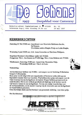 Castenrays dorpsblad De Schans 1997-05-29